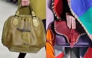 Модные сумки весна-лето 2012 - противоположности притягиваются