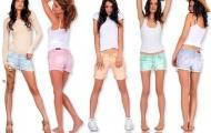 Модные шорты 2012