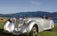 Рижский раритет Horch 853 Special Roadster