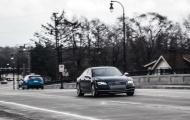 Audi S7 Quattro: плавно летим к цели