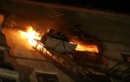 В Киеве очередной пожар