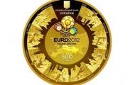 В честь Евро – 2012 НБУ выпусти 500 золотых монет.