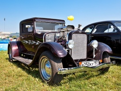 Dodge Coupe 1928 года. Мотор - плита!