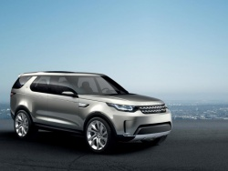Концепт-кар Land Rover Discovery: как дискотека, но еще больше лазеров.