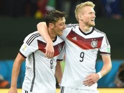 Германия с трудом переиграла Алжир
