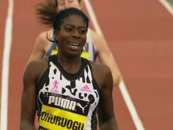 Игры Большого города: Кристина Оуроу выигрывает забег на 500 м в Ньюкасле