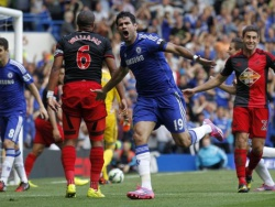«Челси» выигрывает у «Суонси» благодаря хет-трику Диего Коста