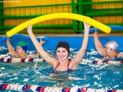 Тренер по аквааэробике Эмма Сафарова: «Для того чтобы заниматься аквааэробикой, не обязательно уметь плавать»