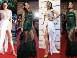 Наталья Бочкарева на закрытии «Кинотавра»: «У меня красивые длинные ноги, что уж скрывать!»
