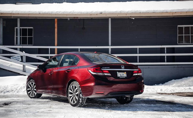 2014 honda civic sedan photo 3