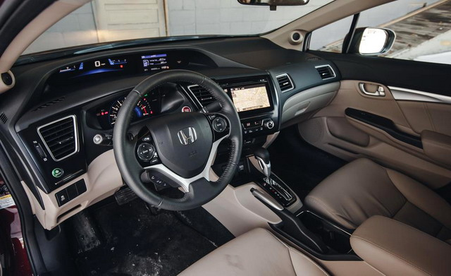 2014 honda civic sedan photo 4